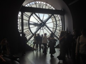 Clock Room in the Musée d'Orsay, Paris, France
