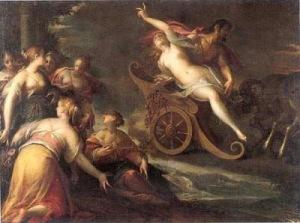 The Rape of Proserpine, Hans Von Aachen, 1587