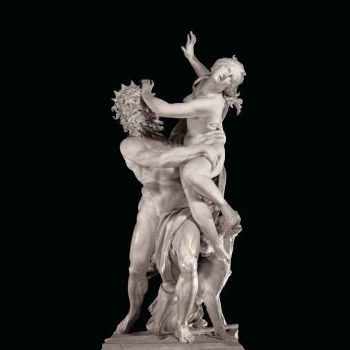 Gian Lorenzo Bernini, The Rape of Proserpina, 1622, Galleria Borghese in Rome