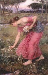 Narcissus, 1912 by John William Waterhouse