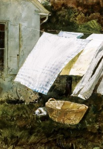 Laundry Day  by Andrew Wyeth