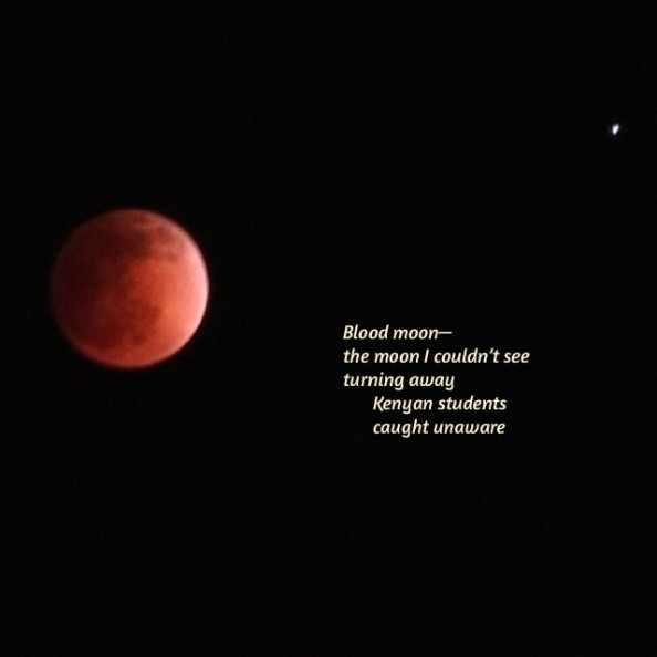 Blood Moon Tanka
