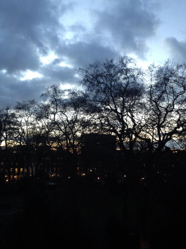 London sky drama
