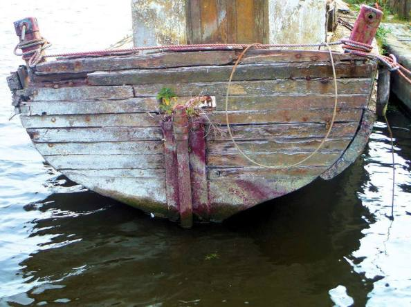 Old Boat ~ Photograph by Mike Keville, (c) 2015