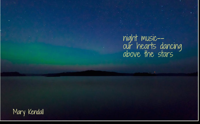 night music haiga