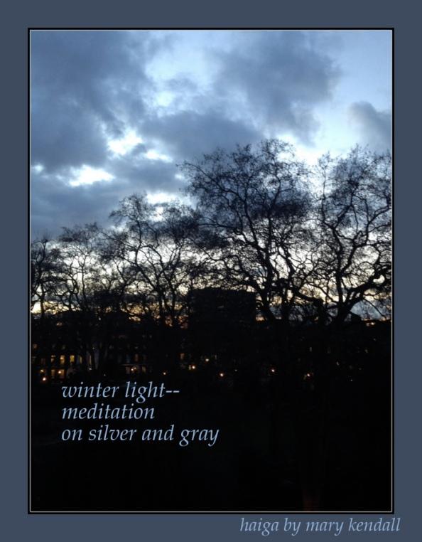 Winter light 2 Haiga
