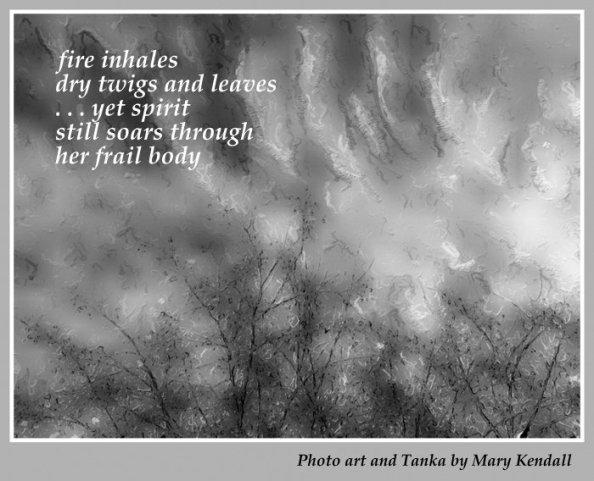 fire inhales