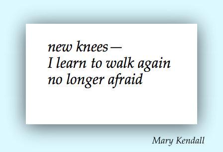 new knees